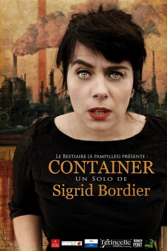 Affiche du spectacle Container - Sigrid Bordier