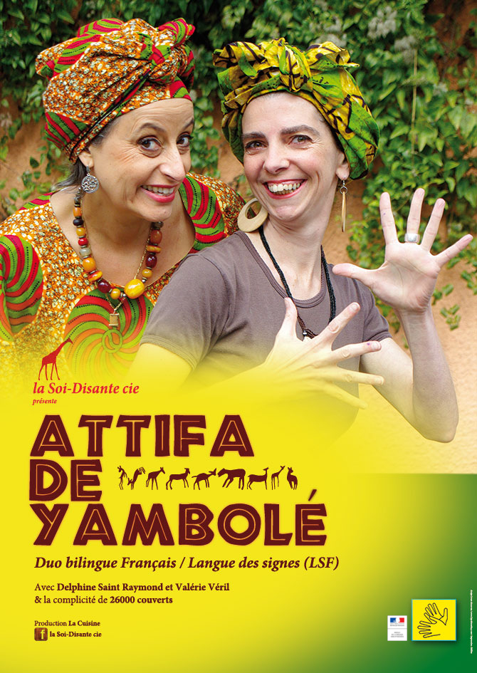 Attifa de Yambolé Duo bilingue LSF/français