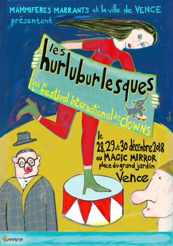 Les Hurluburlesques - Festival International de clowns